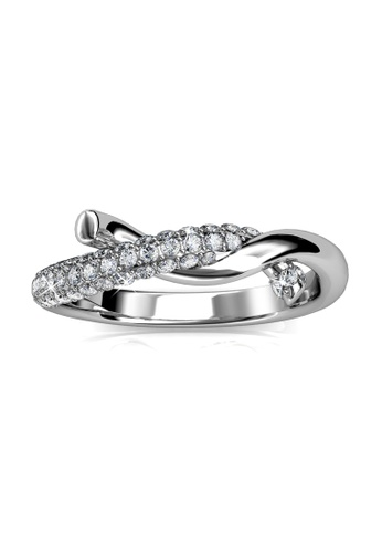 Her Jewellery Edna Ring - Made with premium grade crystals from Austria HE210AC0GP0QSG_1