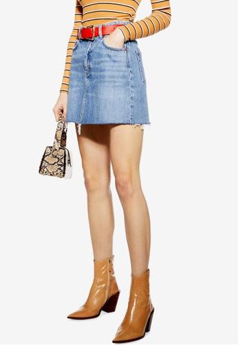 7bac2744c06f Buy TOPSHOP Denim Mini Skirt Online on ZALORA Singapore