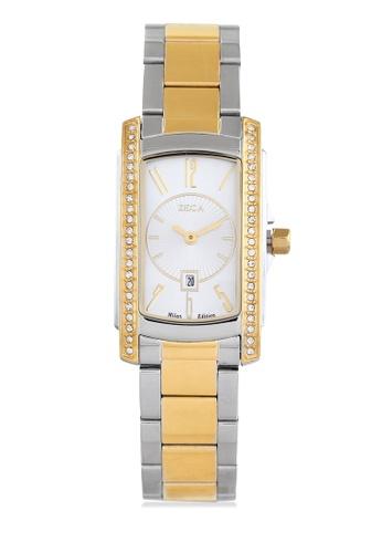 ZECA gold Zeca Watches Ladies Fashion - 1008LB Gold ZE260AC0GZFASG_1