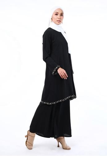 Inhanna black AYU Kurung Black 07854AAC7EC16BGS_1