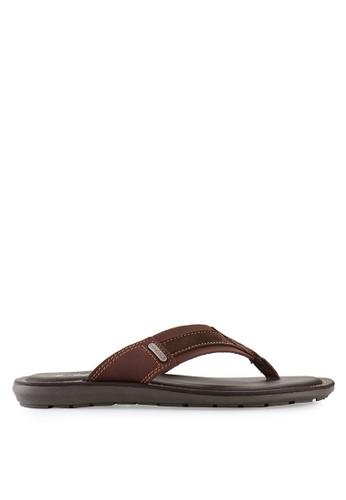 Pakalolo Boots brown Thong Sandal PA409SH08NZFID_1