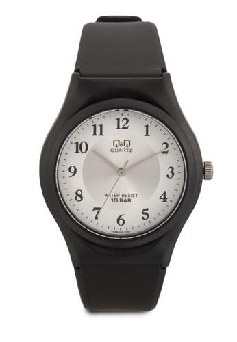 VQ86J020Y 數字顯示橡esprit服飾膠手錶, 錶類, 飾品配件