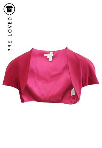 Paule Ka pink Pre-Loved paule ka Pink Bolero 651A2AA2F05D95GS_1