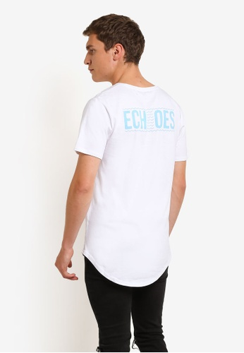 Factorie white Curved Tail Tee FA880AA0RPLRMY_1