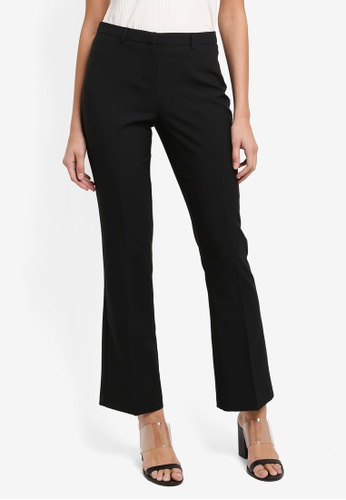 Dorothy Perkins black Short Black Bootcut Trousers 9232FAA5580B37GS_1