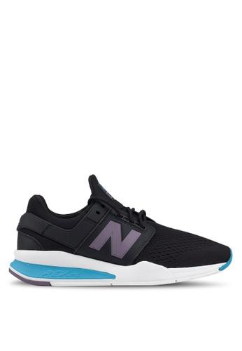 New Balance 黑色 247 Lifestyle 運動鞋 73697SH455BBA0GS_1