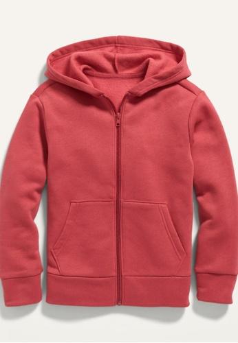 Old Navy pink Kids Gender-Neutral Zip-Front Hoodie 16301KAFC4D31EGS_1