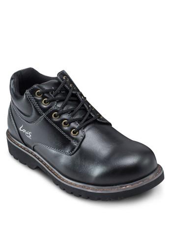 繫esprit 京站帶仿皮踝靴, 鞋, 靴子