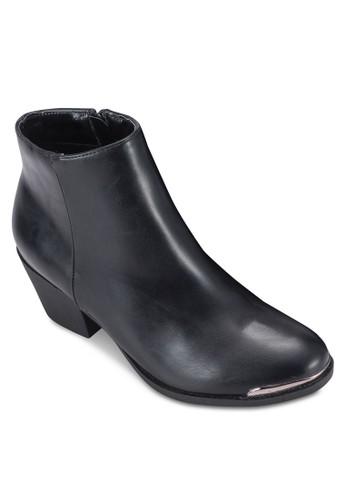 金屬邊低跟短靴, esprit暢貨中心女鞋, 鞋