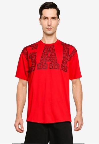 GAP red Jac Cny Gap Easy T-shirt DBE1EAAEB5E8DEGS_1