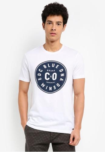 ESPRIT white Short Sleeve T-Shirt 0FDE9AA4ACE0BAGS_1