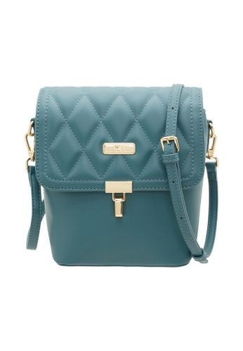 Valentino Creations blue Valentino Creations Rozel Women's Sling Bag 22783AC18987AEGS_1
