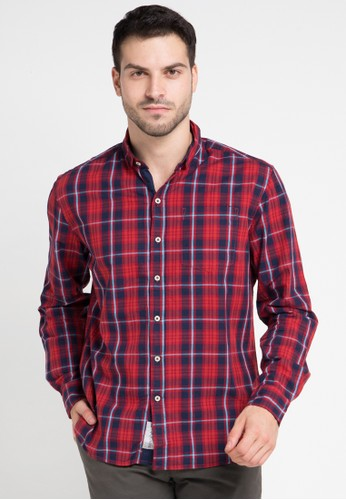 X8 red and multi Axel Shirts X8323AA0VRHSID_1