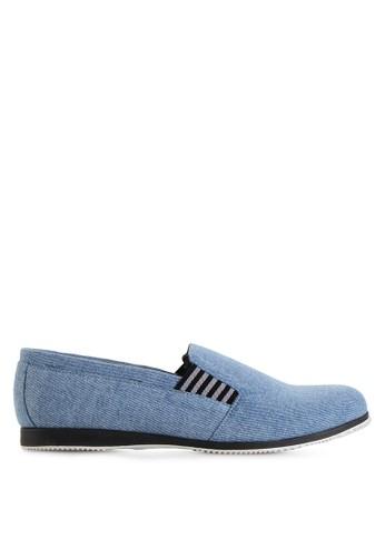 Dr. Kevin blue Loafers, Moccasins & Boat Shoes Shoes 13187 Blue Sky Denim DR982SH23MHGID_1