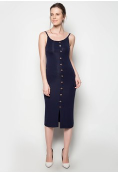 Maxi Full Button Dress