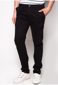 Non-Denim Tapered Pants