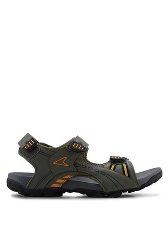Power orange Athletic After Sport Sandals 23F6BSH32C2E31GS_1