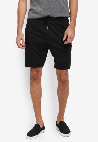JAXON black NEP TERRY SHORTS E7F6AAA1796FB2GS_1