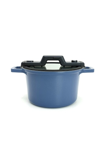 Neoflam blue NEOFLAM SmartCook 24cm Low Pressure Cooker with Xtrema Ceramic Coating (Blue) BD378HL1D43381GS_1