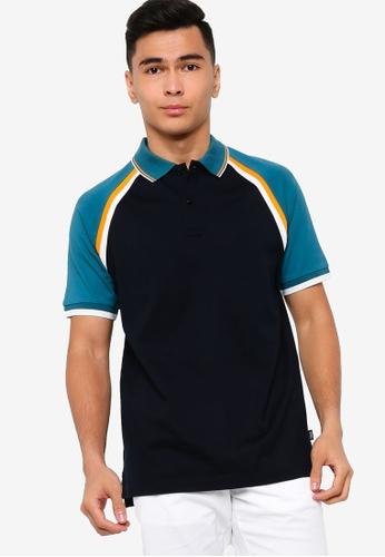 BOSS blue Parlay 27 Polo Shirt - BOSS Men B6628AA26472D7GS_1