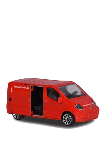 Majorette red Majorette Cars Renault Trafic Australian Post - Red 3CF12TH818913DGS_1