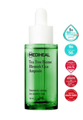 Mediheal green Mediheal Tea Tree Biome Blemish Cica Ampoule 50ml 4E142BE7D0B50DGS_1