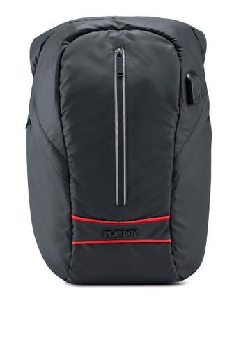 Playboy black Backpack C398EAC801681EGS_1