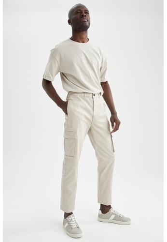 DeFacto brown Regular Trousers D1716AAA0FED0DGS_1