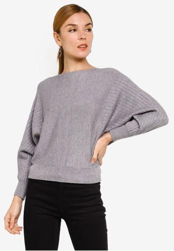 BYN grey Knitwear Blouse A39E8AACF32F0EGS_1