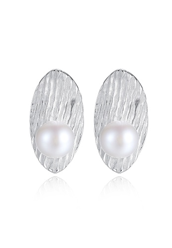 A.Excellence white Premium White Pearl Elegant Earring 292CEAC90081C1GS_1