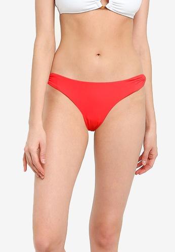 Billabong red Sol Searcher Lowrider Bikini Bottoms 61424AA139BB67GS_1