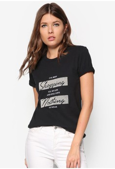 Short Sleeve I'Ve Been Shopping Bf Tee