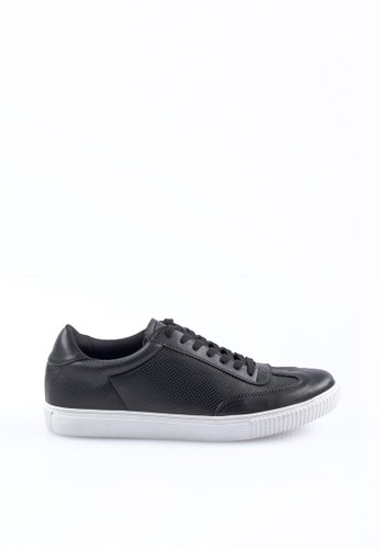 VALINO black VALINO LEATHER SNEAKERS 1A689SHF1BDC1FGS_1