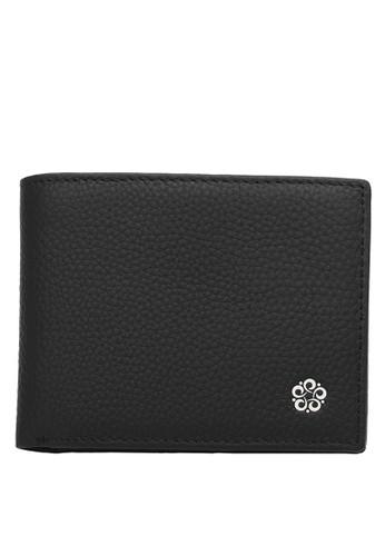 Wild Channel black Short Leather Wallet 94089ACD2AA04FGS_1