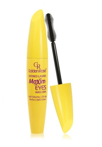 GOLDEN ROSE black Defined Lashes Maxim Eyes Mascara GO743BE23ECMMY_1