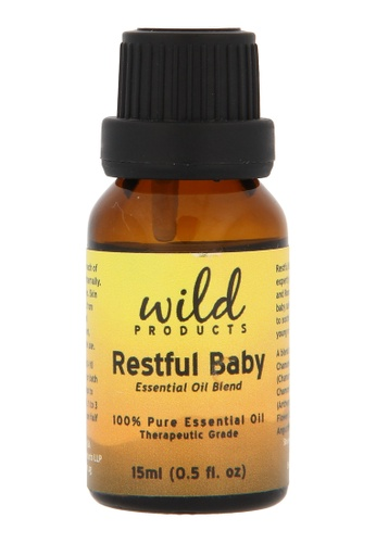 Wild Products Restful Baby Essential Oil Blend - 15ml 25602BE00303A8GS_1