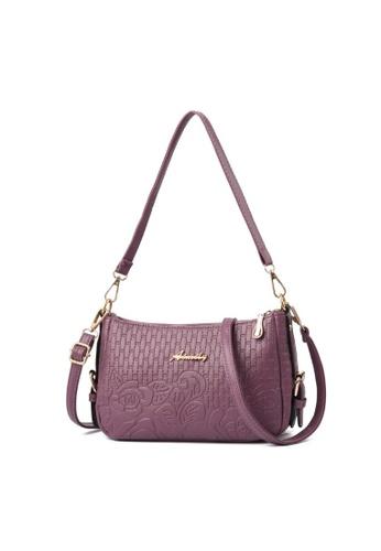 TCWK purple TCWK Korea Style Women Handbag - Purple 58B12ACBFC1144GS_1
