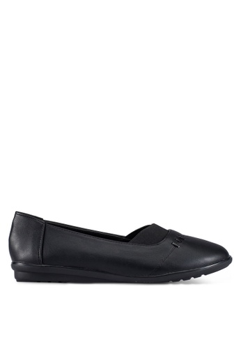 Louis Cuppers black Casual Flats LO977SH0RX40MY_1
