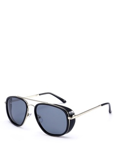 8632dac3bffdc Privé Revaux black The Explorer Sunglasses PR660GL0RC2AMY 1