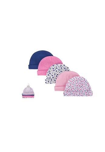 Little Kooma pink Baby 5pc Cap Set 52326CH - 0821 55FC4KCCA05D72GS_1