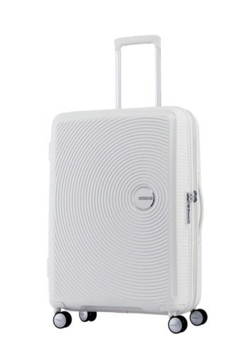 American Tourister white American Tourister Curio Spinner 69/25 Exp TSA AM536AC59ZYISG_1