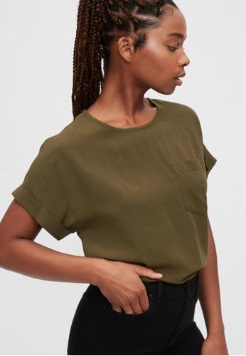 Gap green Pocket T-Shirt F0434AA8BFC9B8GS_1