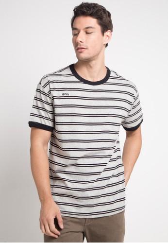hurley multi and grey Huntington Knit T-Shirt D829CAA7C748DEGS_1