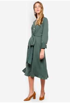 07d0a391e53 52% OFF bYSI V-Neck Button Tie Dress S  99.00 NOW S  47.90 Sizes M