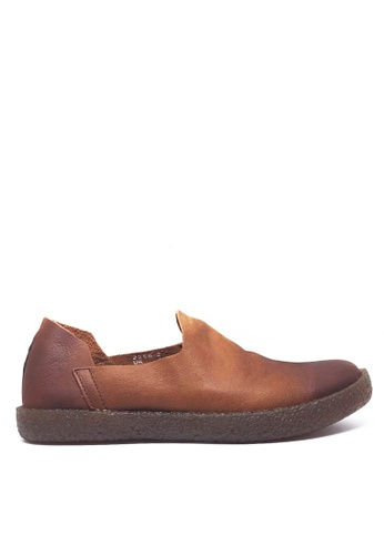 Twenty Eight Shoes Vintage Leather Slip-ons Mc2258-2 F1B57SH25237D1GS_1