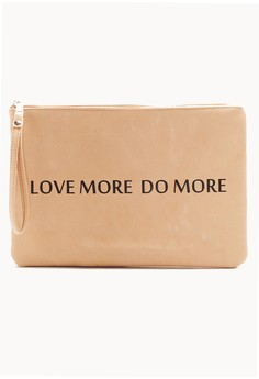 Love More Do More Wristlet