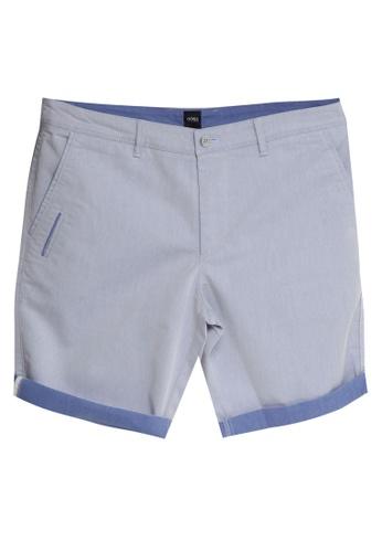 BOSS 海軍藍色 Liem Shorts C5C56AA50584FAGS_1