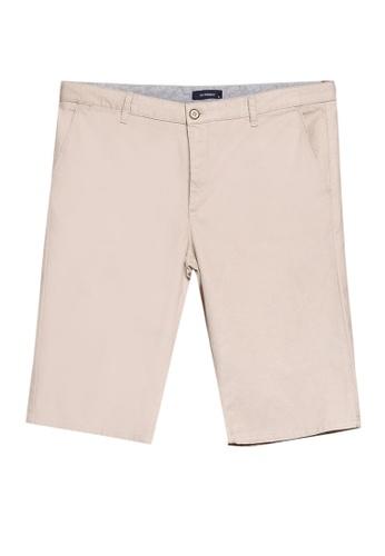 LC Waikiki beige Regular Fit Bermuda Shorts D14BFAA758797DGS_1