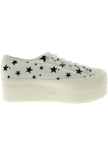 Maxstar white Maxstar Women's C50 6 Holes Platform Canvas Low Top Star Sneakers US Women Size MA164SH96PULSG_1