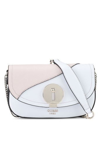 Guess multi Augustina Mini Cross Body Flap E2BBCAC86573F0GS_1